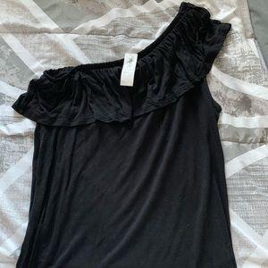 Old navy one shoulder shirt